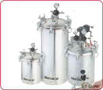 Binks - Pressure Feed Containers & Agitators