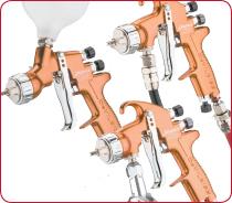 DeVilbiss Advance Trans Tech Spray Guns