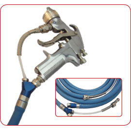Coaxial Paint and Air Hose
