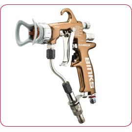 Binks AA4400M air assisted airless spray gun
