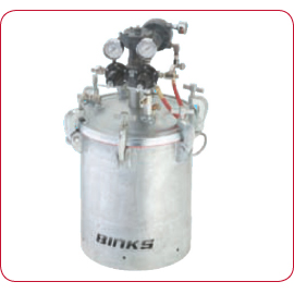 Binks Pressure Feed Containers & Agitators